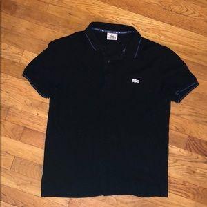 Black Lacoste Polo SZ 4 GREAT Condition